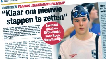Zesmaal goud én EYOF-limiet voor Roos Vanotterdijk