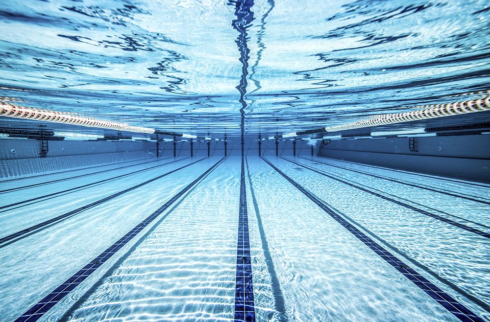 Trainen in Genk (50m bad) op zaterdagavond