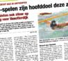 2 EYOF-limieten en zilver op de 100m rug voor Roos Vanotterdijk