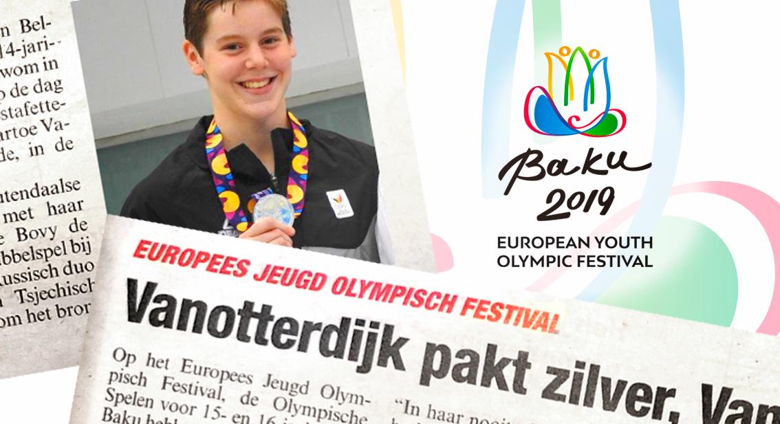 Roos Vanotterdijk pakt zilver op EYOF 2019 te Baku!